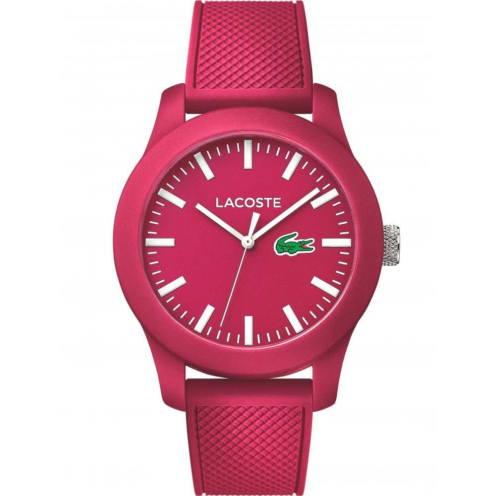 7db185671e2 Relógio Lacoste Feminino Borracha Rosa - 2010793