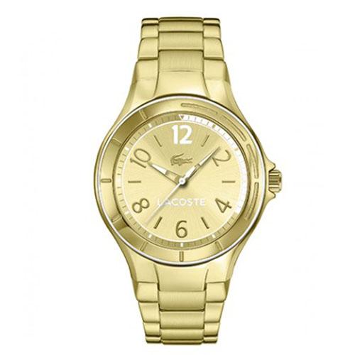 d0ad6dcfcea Relógio Lacoste Masculino Aço Dourado - 2000880