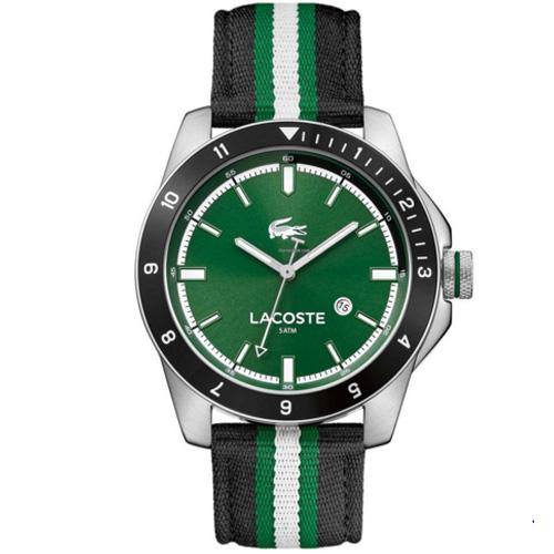 e361fa5150b06 Relógio Lacoste Masculino Nylon Preto - 2010820