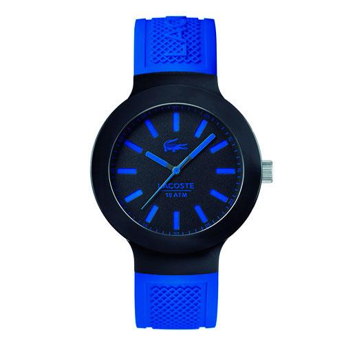 fe7c4460a59 Relógio Lacoste Masculino Borracha Azul - 2010815