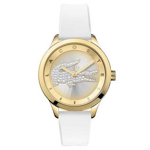 4d4b23b0dc553 Relógio Lacoste Feminino Borracha Branca - 2000916