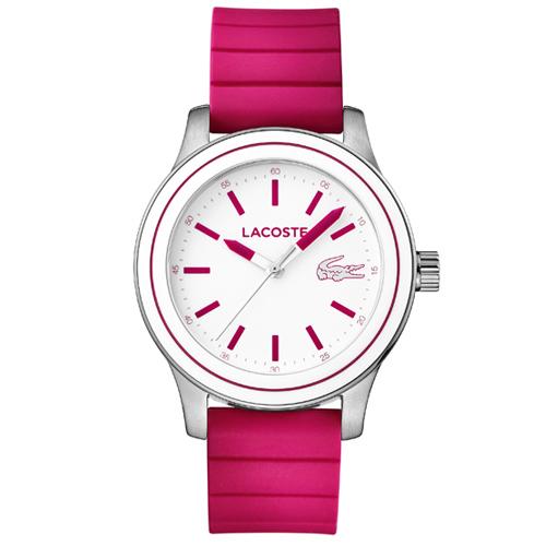 0855249992a ... Relógio Lacoste Feminino Borracha Rosa - 2000906 5386ff2a167841 . ...