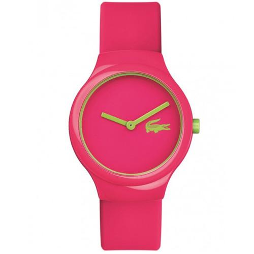 a66460e70 Relógio Lacoste Feminino Borracha Rosa - 2020098
