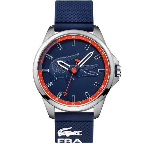 47b0d64f52f Relógio Lacoste Masculino Borracha Azul - 2010842