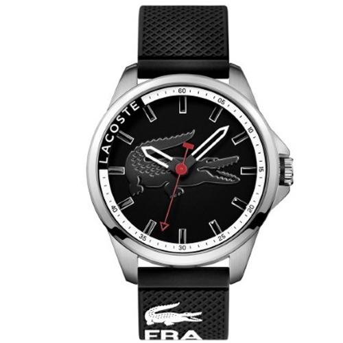 361e568e1eb Relógio Lacoste Masculino Borracha Preta - 2010840
