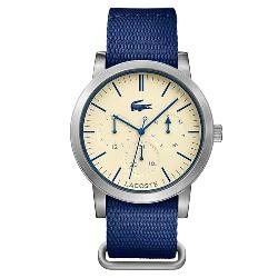 edf866d4ae0f5 Relógio Lacoste Masculino Nylon Azul - 2010875