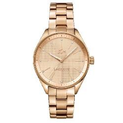42f68ee0625 Relógio Lacoste Feminino Aço Rosé - 2000899