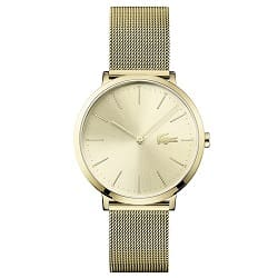 df785c2709f Relógio Lacoste Feminino Aço Dourado - 2001000