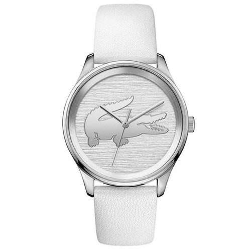 503323f7629 Relógio Lacoste Feminino Couro Branco - 2001001