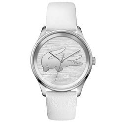 5cfc5935118 Relógio Lacoste Feminino Couro Branco - 2001001