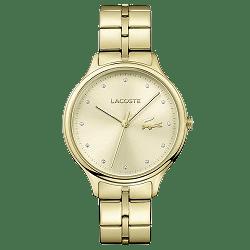 8a5ebfaba09 Relógio Lacoste Feminino Aço Dourado - 2001008