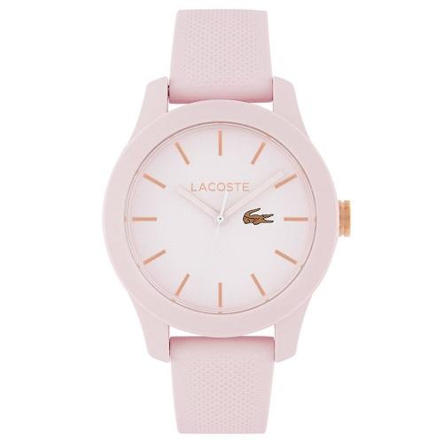 e40cfed84 Relógio Lacoste Feminino Borracha Rosa - 2001003