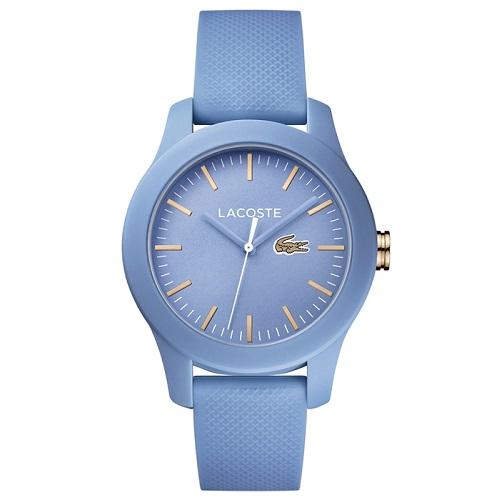 d64b99e5e Relógio Lacoste Feminino Borracha Azul - 2001004