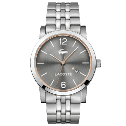 a7a39b05e4151 Relógio Lacoste Masculino Aço - 2010927