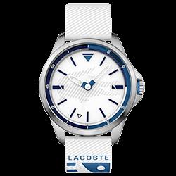 d96134d3b97 Relógio Lacoste Masculino Borracha Branca - 2010942
