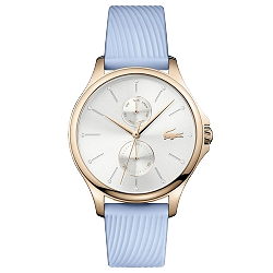 6dcb70d323d Relógio Lacoste Feminino Borracha Azul - 2001024