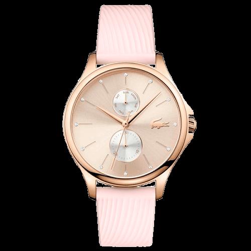 660a40c07 Relógio Lacoste Feminino Borracha Rosa - 2001025