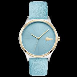 3b5645bf69a Relógio Lacoste Feminino Couro Azul - 2001012