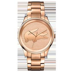de3cdbaa8bf Relógio Lacoste Feminino Aço Rosé - 2001015