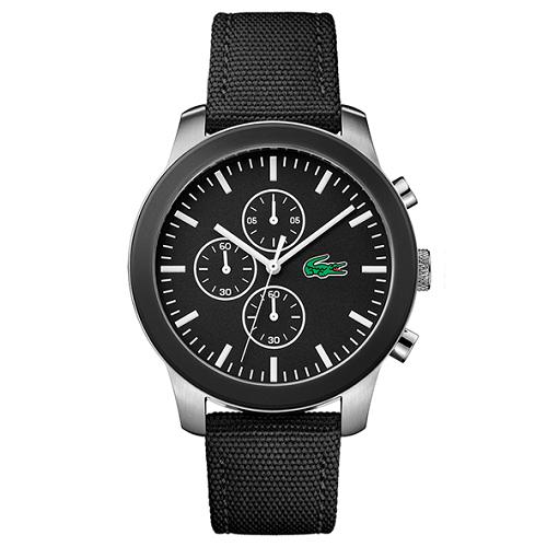 2c1958c6bd2a3 Relógio Lacoste Masculino Nylon Preto - 2010950