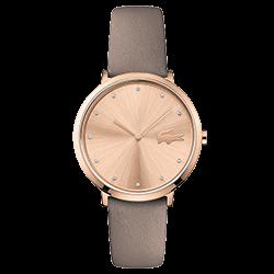 068670f6e8d Relógio Lacoste Feminino Couro Castanho - 2001039