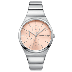 6053aaaf40a Relógio Lacoste Feminino Aço - 2001038
