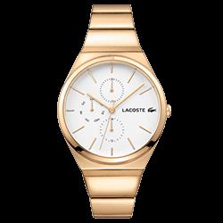 ec7e45f6ab9 Relógio Lacoste Feminino Aço Dourado - 2001037