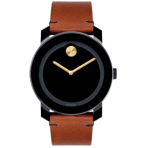 5cf883313d9 Relógio Movado Masculino Couro Marrom - 3600305R  1.490