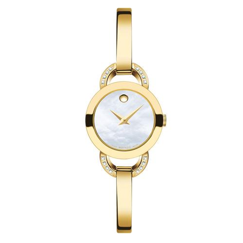 c20b5c07a4c Relógio Movado Feminino Aço Dourado - 606889