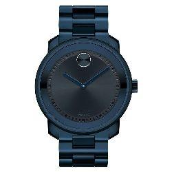 1202be601d8 Relógio Movado Masculino Aço Azul - 3600296