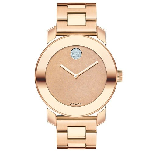 9baeb5a89a3 Relógio Movado Feminino Aço Rosé - 3600335