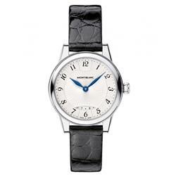 b686d4e798a Relógio Montblanc Feminino Couro Preto - 111206