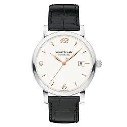 e25b48500ff Relógio Montblanc Masculino Couro Preto - 110717
