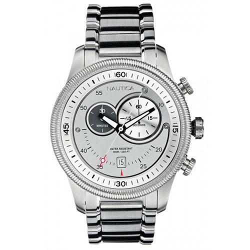 c22aa36a0f6 Relógio Nautica Masculino Aço - A15553G