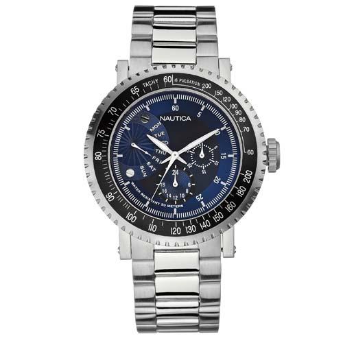 8b3d3af3202 Relógio Nautica Masculino Aço - A19514G