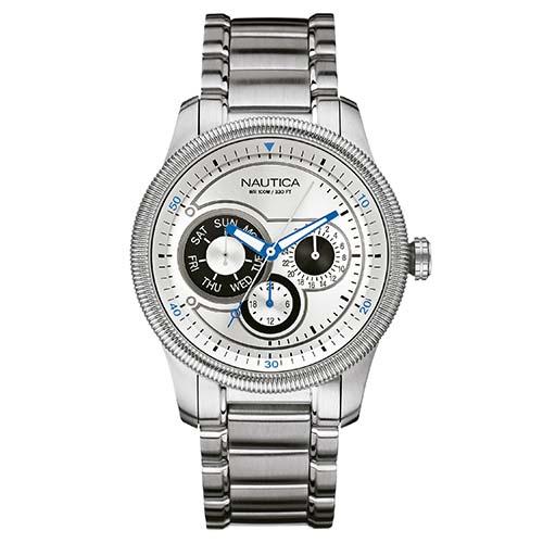 c6cd86866f1 Relógio Nautica Masculino Aço - A16515G