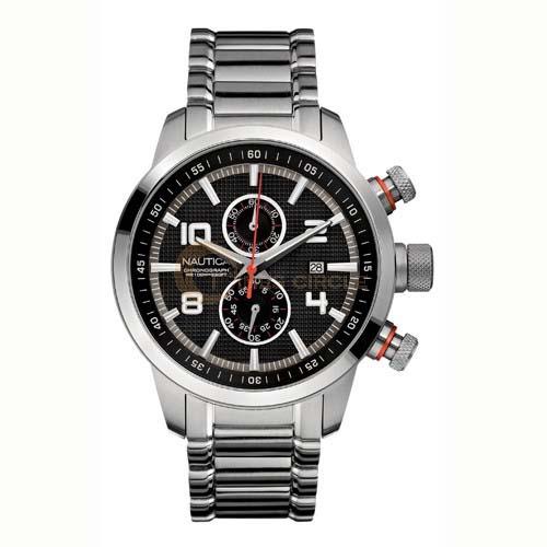 be1a1c8e732 Relógio Nautica Masculino Aço - A22549G