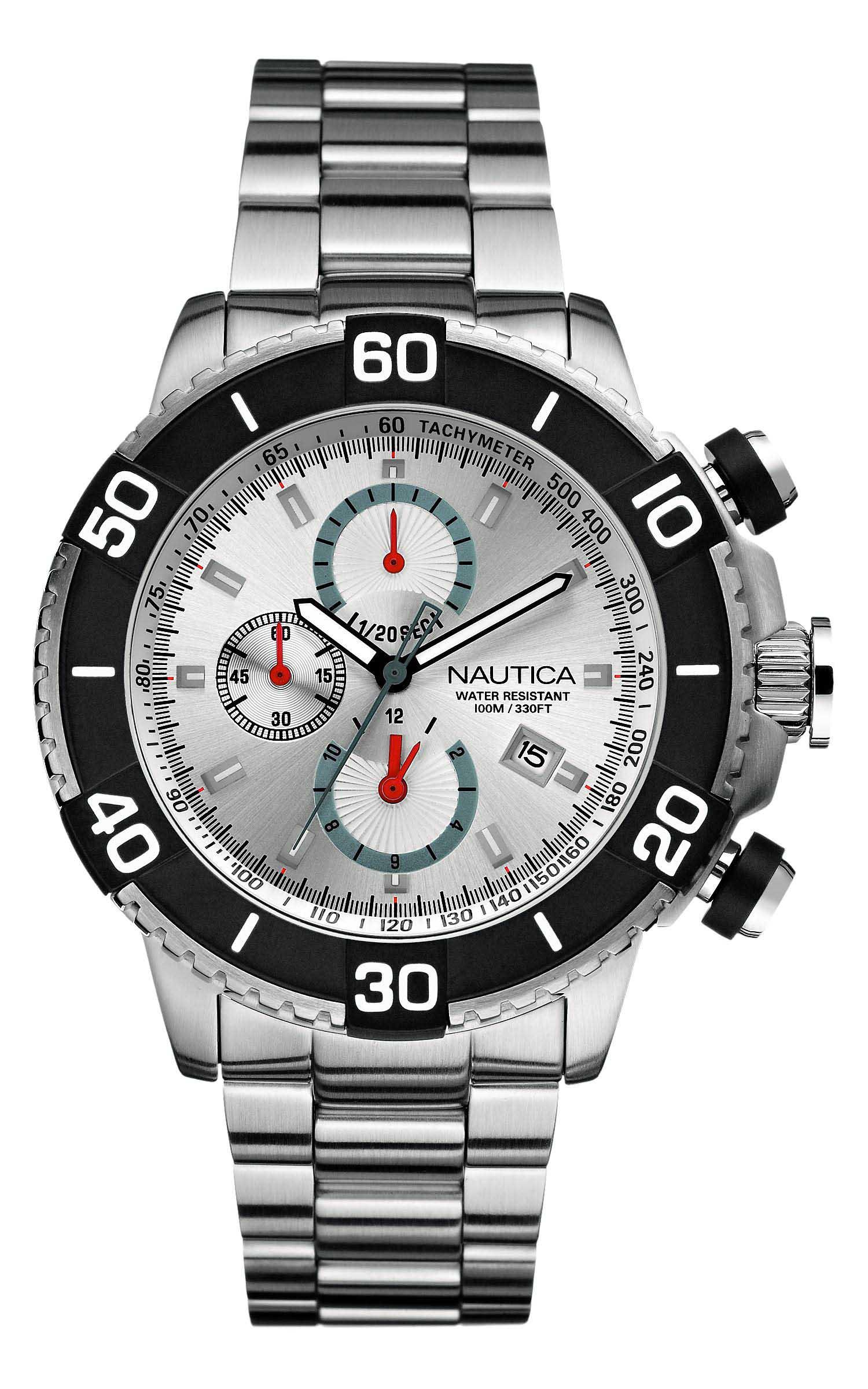 0650d50f758 Relógio Nautica Masculino Aço - A21526G