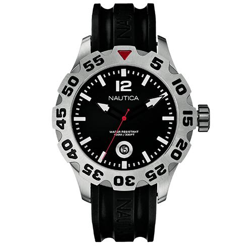 b08be640824 Relógio Nautica Masculino Resina Preta - A14600G