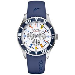 d6f56bb8c76 Relógio Nautica Masculino Resina Azul - A12627G