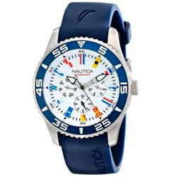 061f9c412a7 Relógio Nautica Masculino Borracha Azul - NAI13502G