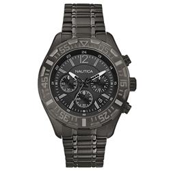 caa7dad90ab Relógio Nautica Masculino Aço Preto - A22634G