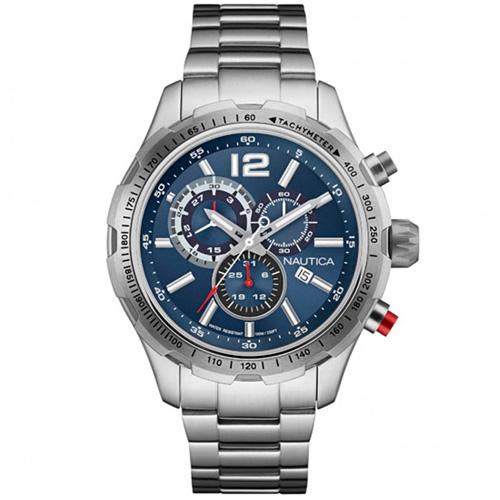 f22a40a126c Relógio Nautica Masculino Aço - NAI18503G