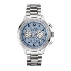 0cdbad7c4d1 Relógio Nautica Masculino Aço - A19631G