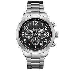 3b5af8b8cf6 Relógio Nautica Masculino Aço - NAI16515G