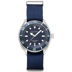 bc13ae6bc62 Relógio Nautica Masculino Nylon Azul - NAPPRF001
