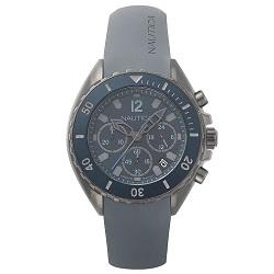 9b1cc82b0b3 Relógio Nautica Masculino Borracha Cinza - NAPNWP003