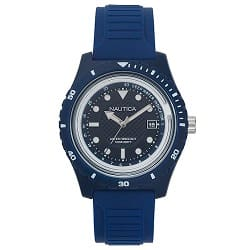 7c2b080ac95 Relógio Nautica Masculino Borracha Azul - NAPIBZ005