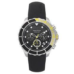 9043b44a0d0 Relógio Nautica Masculino Borracha Preta - NAPPTR002