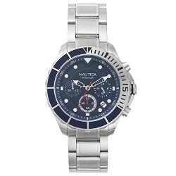 b080a40a649 Relógio Nautica Masculino Aço - NAPPTR004